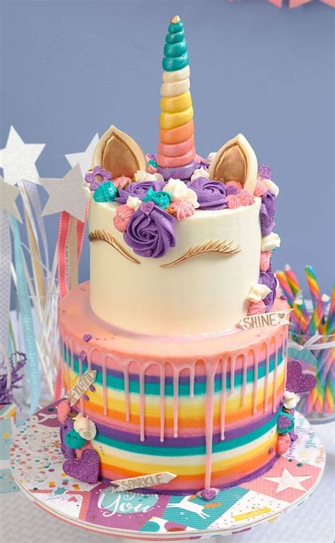 einhorn kuchen deko 1001 ideen zum thema einhorn torte f 252 r kleine kinder kuchen birthday cake unicorn