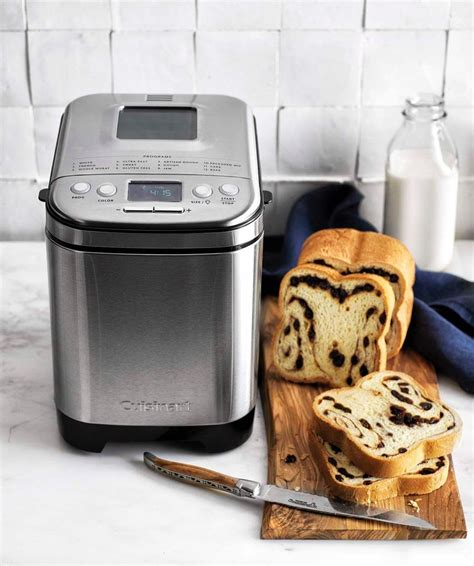 Being new to bread making and having a new bread machine i have been looking for different recipes to try. Cuisinart Bread Maker | Cuisinart bread maker recipe, Cinnamon swirl bread, Bread maker recipes