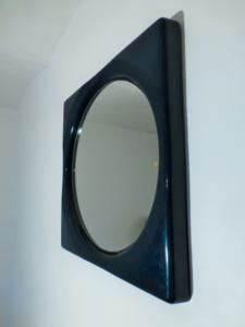 Petit Miroir Carré : miroir carre bleu canard 1970 ~ Teatrodelosmanantiales.com Idées de Décoration