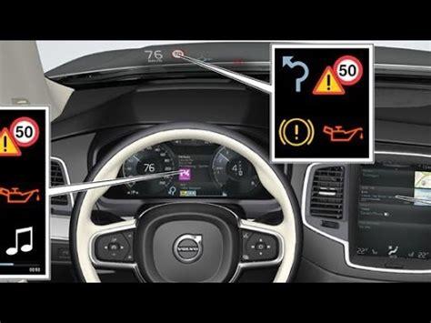 volvo xc head  display driver display