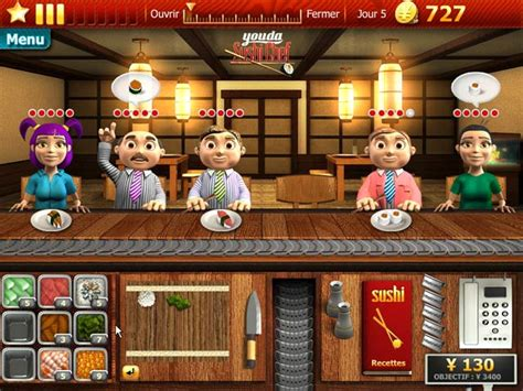 youda sushi chef gt jeu iphone android et pc big fish
