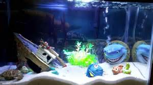 theme bedroom ideas finding nemo themed aquarium fish tank
