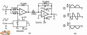 Simple Analog Phase Detector Circuit Diagram