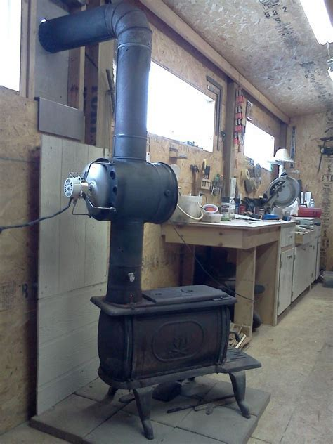 Woodstove Heat Exchanger : Building the Circulation Fan