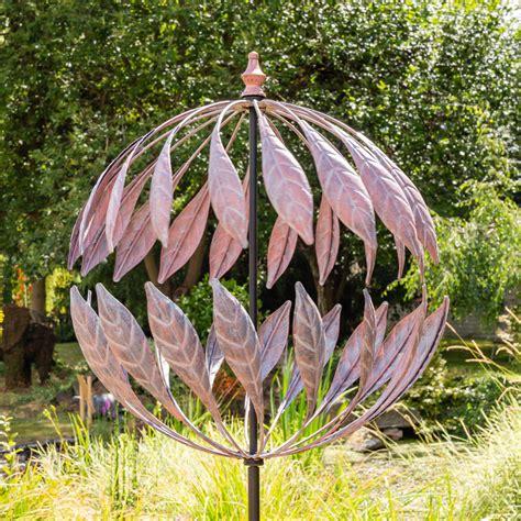 """264cm Windrad  Windspiel """"odell"""" Mit Bronzeoptik, Garten"""