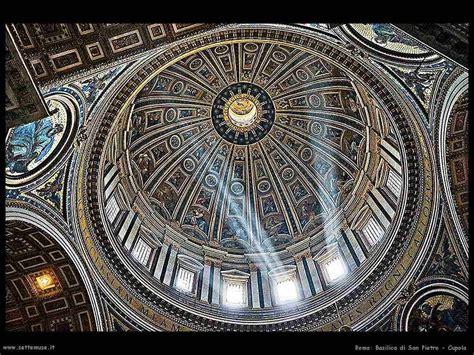 quanto è alta la cupola di san pietro basilica di san pietro roma e opere d arte settemuse it