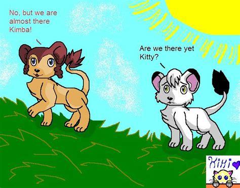 Kitty And Kimba By Xxyoiteshindouxx On Deviantart