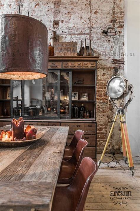 rustic industrial decor how to create a rustic industrial design line in your home Modern