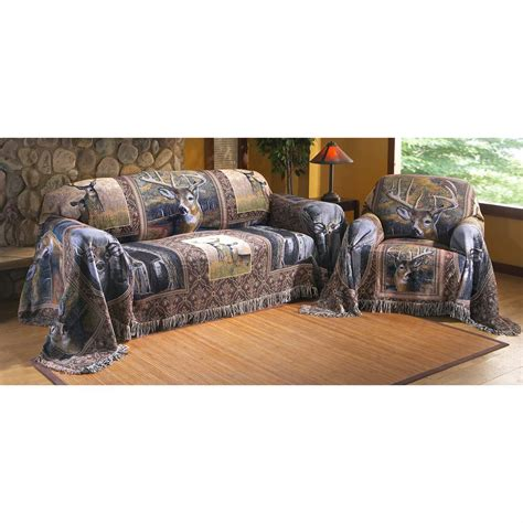 Sofas Online Canada by Whitetail Deer Collage Furniture Throw 135141 Furniture