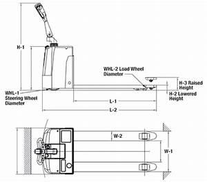 Multiton Pallet Jack Parts Diagram