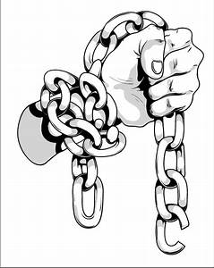 hand in chains by T3hSpoon on DeviantArt