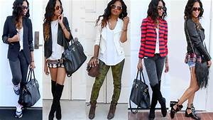 BACK TO SCHOOL OUTFITS (College/ University) - YouTube