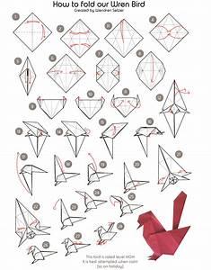 Wren Bird Origami