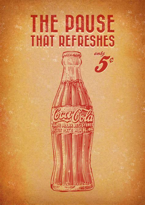 digital vintage coca cola posters digitalartio