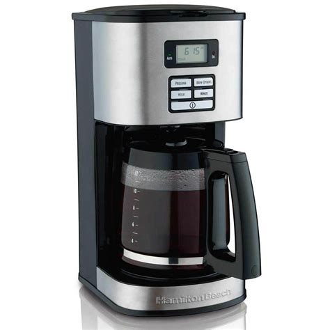 hamilton beach cup coffee maker programmable cone filters