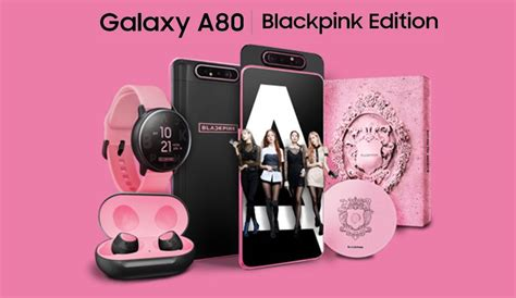 samsung galaxy a80 blackpink edition mobile phones tablets android phones samsung