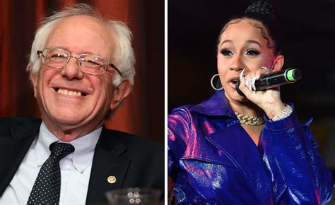 Bernie Sanders Agrees With Cardi B On Importance Of Social