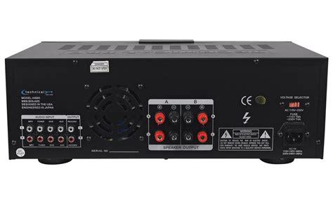 2500w Dj Professional Home Audio Digital Stereo 2 Channel