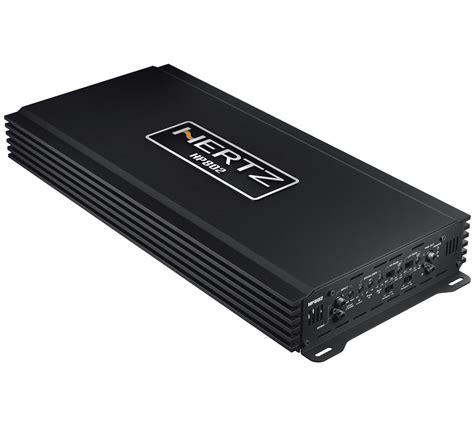 hertz hp  spl car audio amplifier