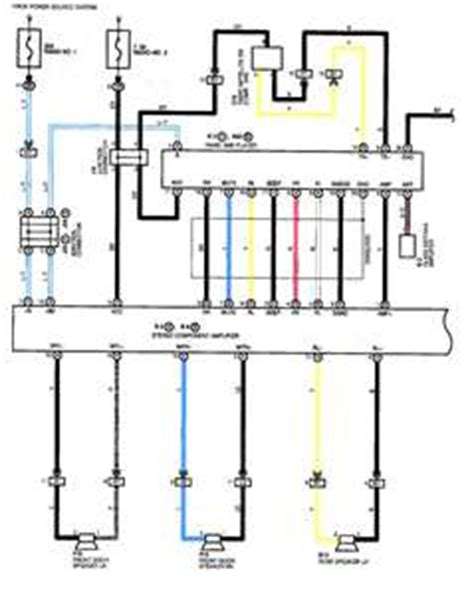 Toyotum Solara Jbl Wiring Diagram by Wiring Diagram For A 2002 Toyota With Jbl Solved