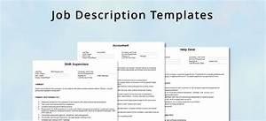 generic job description template beautiful template With generic job description template