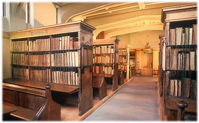 Chained Library Hereford Cathedral Librery History 保存