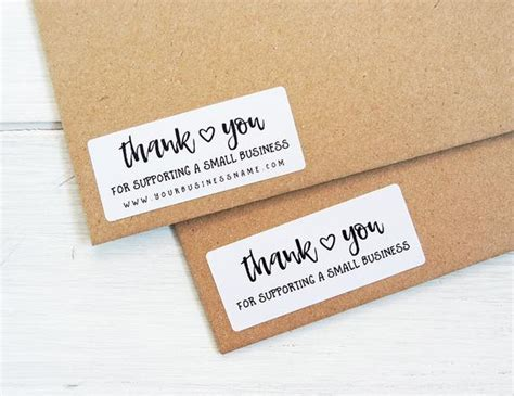 30 Thank You For Supporting Small Business Stickers Shop Business Plan On Poultry Farming Thai Tea Cards Young Living Quincy Il Vancouver Design Model Canvas 3.5 X 2.5