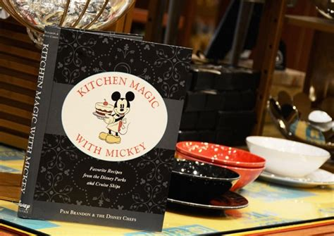 Kitchen Magic With Mickey Book by New Disney Cookbook Kitchen Magic With Mickey