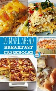 10 Make Ahead Breakfast Recipes & a pin-it party ...