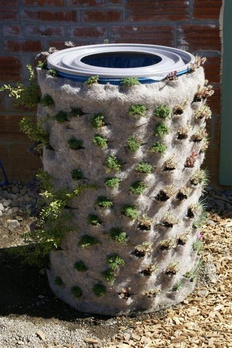 diy barrel planter  owner builder network