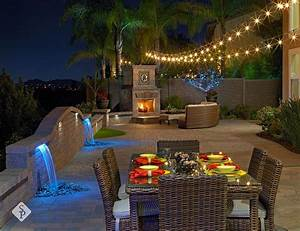 97 best system pavers custom projects images on pinterest With outdoor lighting system with built in speakers for decks and patios