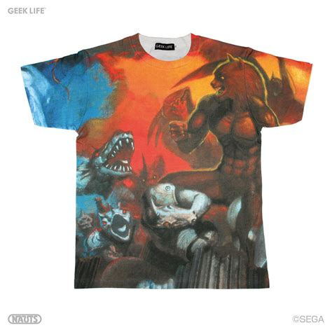 geek life  sega  shirts retrotastic technabob