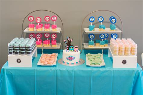 gender reveal table ideas baby g s gender reveal party whimsical weddings
