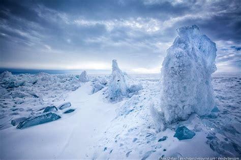 ice  lake baikal amusing planet
