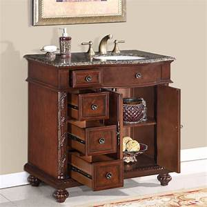 36 perfecta pa 139 bathroom vanity r single sink cabinet With where to buy a bathroom vanity