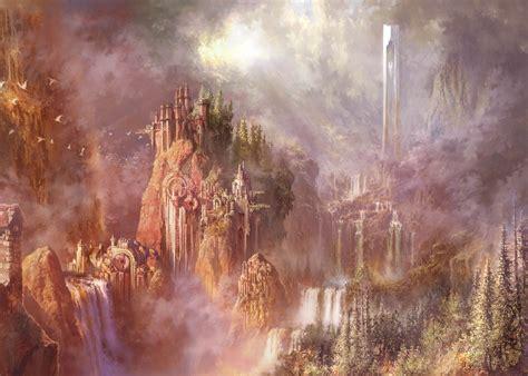 fantasy Art, Waterfall Wallpapers HD / Desktop and Mobile ...
