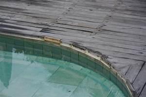 Piscine Sans Margelle : margelle de la piscine en mauvais tat sans parler de la ~ Premium-room.com Idées de Décoration