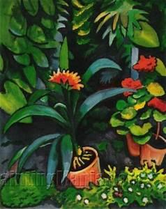 Blumen Im Garten : blumen im garten august macke paintings ~ Bigdaddyawards.com Haus und Dekorationen