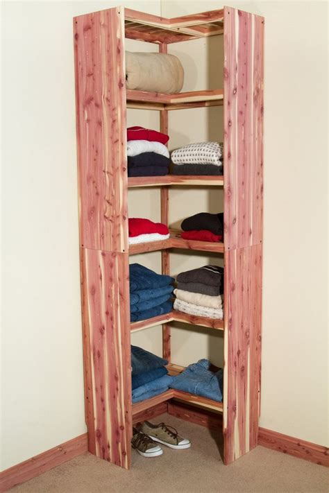 deluxe solid corner cubby  rv storage solutions