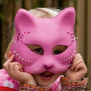 Masque Pour Peinture : d guisement masque chat rose strass id es et conseils ~ Edinachiropracticcenter.com Idées de Décoration