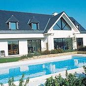 HD wallpapers maison moderne avec grande baie vitree ...