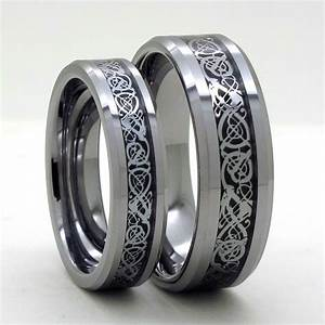 Popular dragon wedding ring sets buy cheap dragon wedding for Tungsten carbide wedding ring sets