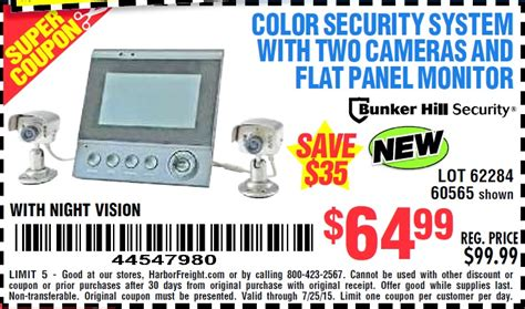 60577 Home Security System Coupons by Harbor Freight Tools Coupon Database Free Coupons 25