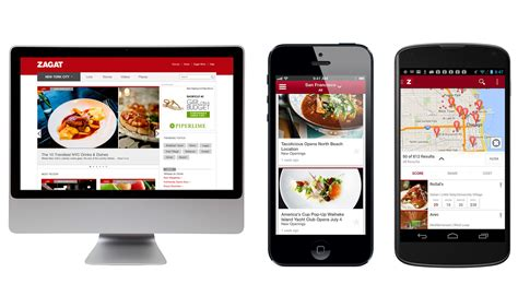 application cuisine android relaunches zagat s website and mobile apps no
