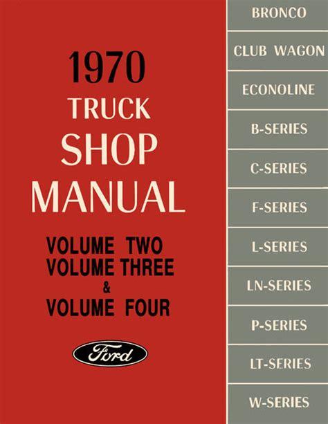 ford truck repair manual