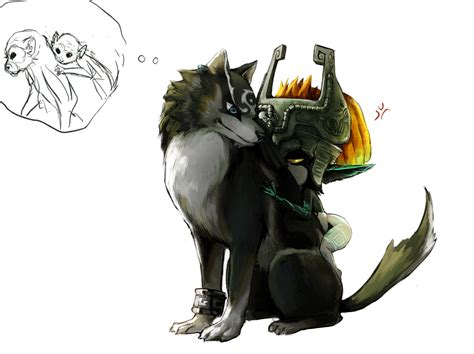Wolf Link And Midna The Legend Of Zelda Twilight