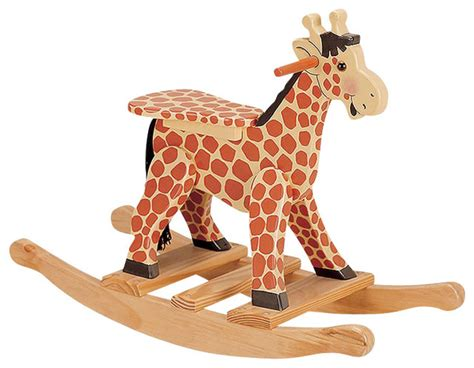 teamson safari painted giraffe themed