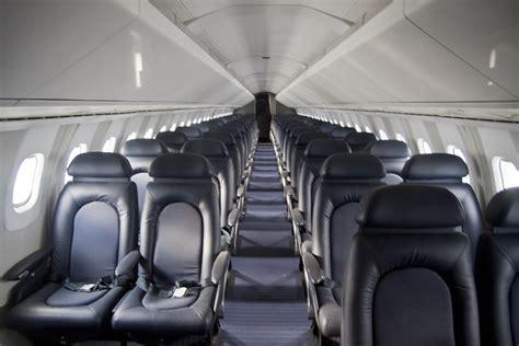 concorde passenger cabin pretty cramped
