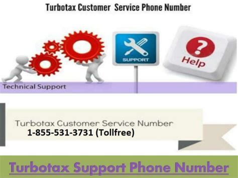 turbotax customer service 1 855 531 3731 phone number