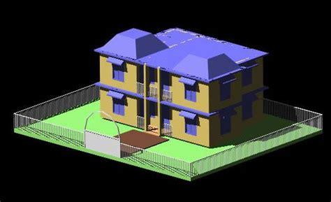 Home Design 3d Tutorial : Autocad 3d House Design
